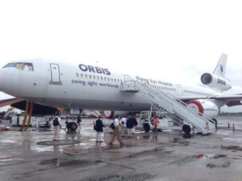 The ORBIS Flying Eye Hospital